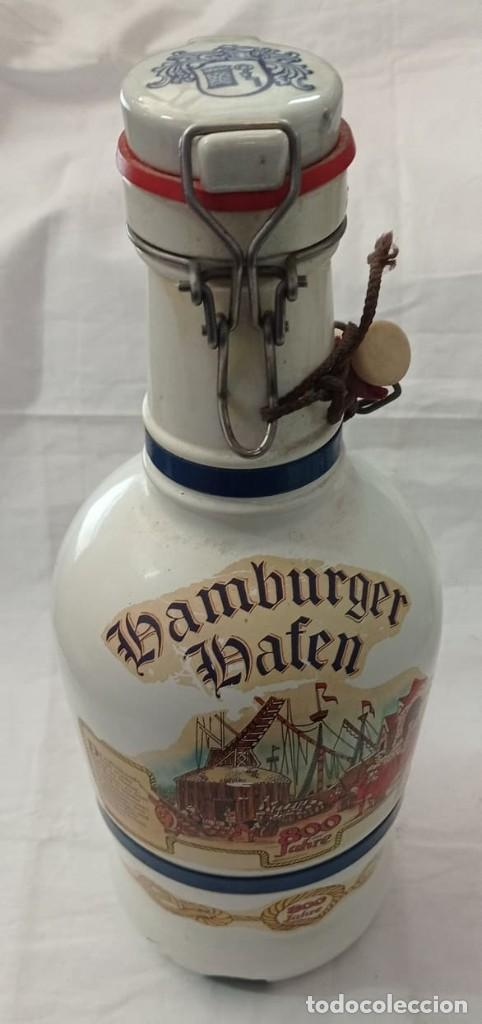 Coleccionismo Otros Botellas y Bebidas: GARRAFA LHAMBURGER LHAFEN - Foto 5 - 243865650