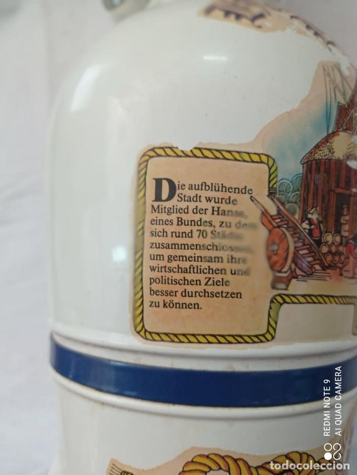 Coleccionismo Otros Botellas y Bebidas: GARRAFA LHAMBURGER LHAFEN - Foto 6 - 243865650