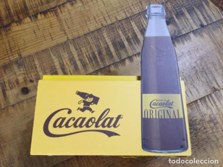 CACAOLAT - SERVILLETERO DE MADERA - 2020 - BARCELONA (Coleccionismo - Otras Botellas y Bebidas )