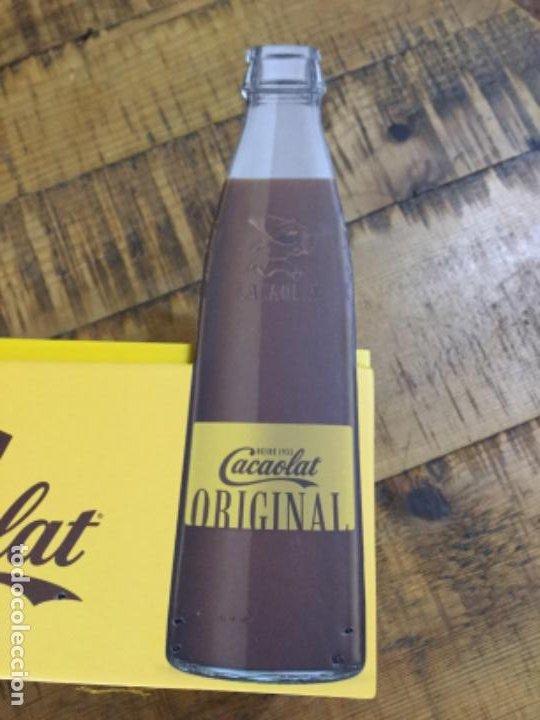 Coleccionismo Otros Botellas y Bebidas: CACAOLAT - SERVILLETERO DE MADERA - 2020 - BARCELONA - Foto 2 - 244481510