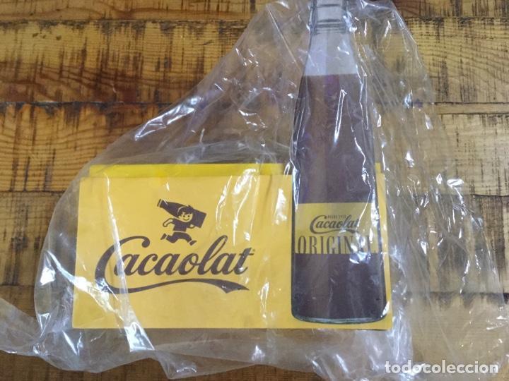 Coleccionismo Otros Botellas y Bebidas: CACAOLAT - SERVILLETERO DE MADERA - 2020 - BARCELONA - Foto 9 - 244484065
