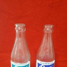 Coleccionismo Otros Botellas y Bebidas: 2 BOTELLAS DE REFRESCO MARCA DUX. Lote 244645265