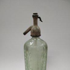 Coleccionismo Otros Botellas y Bebidas: SIFON ANTIGUO TAPON DE PLOMO. Lote 245455265
