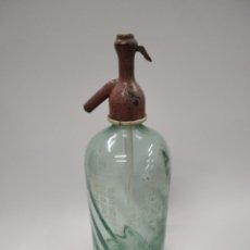 Coleccionismo Otros Botellas y Bebidas: SIFON ANTIGUO TAPON DE PLOMO DEFECTO. Lote 245456495