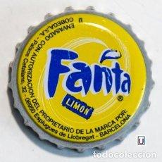 Coleccionismo Otros Botellas y Bebidas: TAPÓN CORONA - CHAPA - REFRESCO - ESPAÑA (BARCELONA) ESPLUGUES DE LL. - FANTA LIMÓN - U -. Lote 245560750