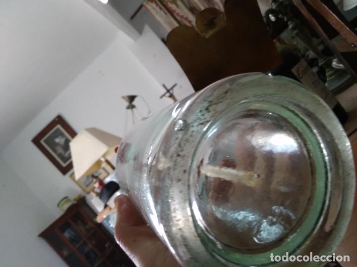 Coleccionismo Otros Botellas y Bebidas: Sifón Manuel Temprado Travesia del Cristo La Roda Albacete. Pieza rara. Vitrina despacho. - Foto 6 - 247485520