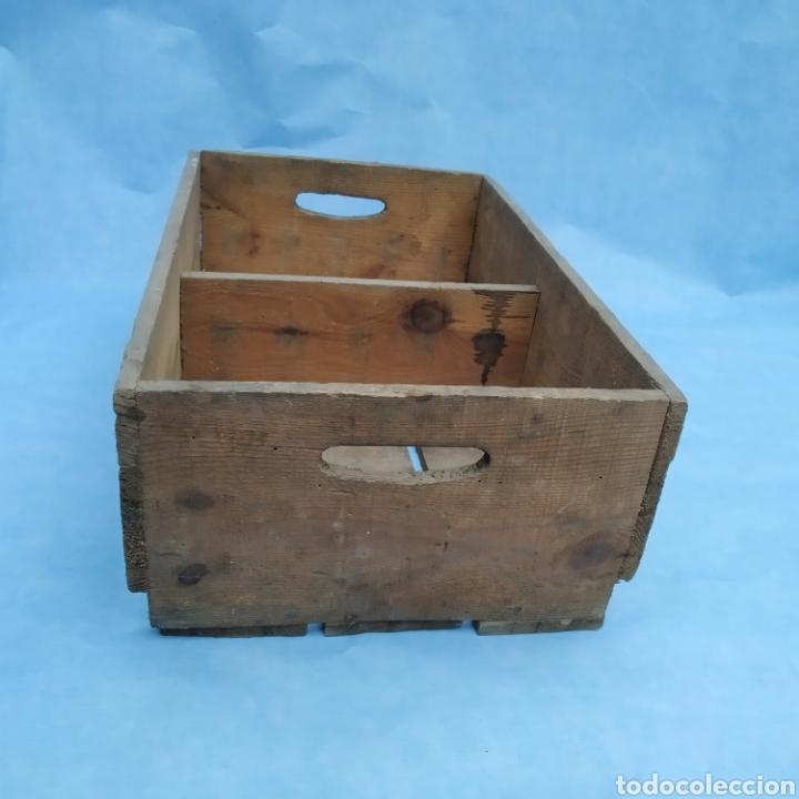 Coleccionismo Otros Botellas y Bebidas: Antigua caja de madera de botellas CINZANO años 50 - 60 - Foto 2 - 249278295