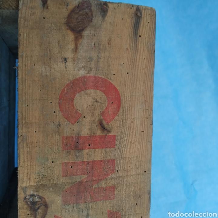 Coleccionismo Otros Botellas y Bebidas: Antigua caja de madera de botellas CINZANO años 50 - 60 - Foto 7 - 249278295