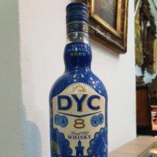 Coleccionismo Otros Botellas y Bebidas: BOTELLA VACIA . DYC 8 EDICION FERIA DE MALAGA. Lote 250220100