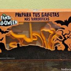 Coleccionismo Otros Botellas y Bebidas: 6 MOLDES DE GALLETAS HALLOWEEN FANTA. Lote 253729375