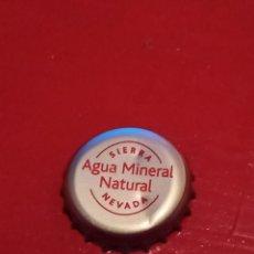 Coleccionismo Otros Botellas y Bebidas: CHAPA TAPON CORONA AGUA ESPAÑOLA SIERRA NEVADA.. Lote 253742085
