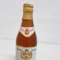 Coleccionismo Otros Botellas y Bebidas: CERVEZA EL AGUILA IMPERIAL ,LLENA,33CL. Lote 253815185