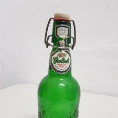 Coleccionismo Otros Botellas y Bebidas: CERVEZA GROLSCH ,VACÍA. Lote 253816500