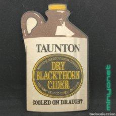 Coleccionismo Otros Botellas y Bebidas: POSAVASOS TAUNTON DRY BLACKTHORN CIDER. Lote 254882135