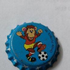 Coleccionismo Otros Botellas y Bebidas: A14. TAPON CORONA. CROWN CAPS. CHICLE FUTBOL 96. Lote 254902750