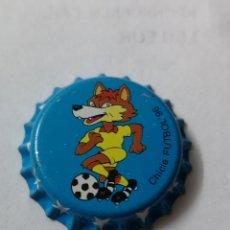 Coleccionismo Otros Botellas y Bebidas: A18. TAPON CORONA. CROWN CAPS. CHICLE FUTBOL 96. Lote 254903305