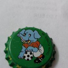 Coleccionismo Otros Botellas y Bebidas: A21 TAPON CORONA. CROWN CAPS. CHICLE FUTBOL 96. Lote 254903865