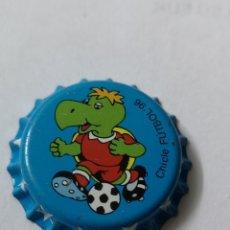 Coleccionismo Otros Botellas y Bebidas: A24. TAPON CORONA. CROWN CAPS. CHICLE FUTBOL 96. Lote 254904280