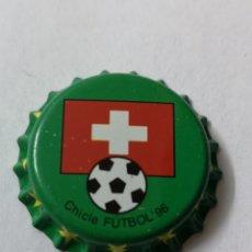 Coleccionismo Otros Botellas y Bebidas: A27. TAPON CORONA. CROWN CAPS. CHICLE FUTBOL 96. Lote 254904640
