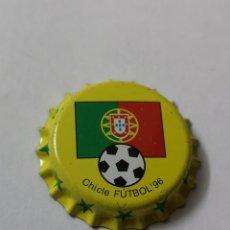 Coleccionismo Otros Botellas y Bebidas: A29. TAPON CORONA. CROWN CAPS. CHICLE FUTBOL 96. Lote 254904940