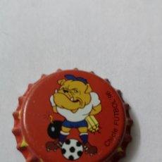 Coleccionismo Otros Botellas y Bebidas: A31. TAPON CORONA. CROWN CAPS. CHICLE FUTBOL 96. Lote 254905190