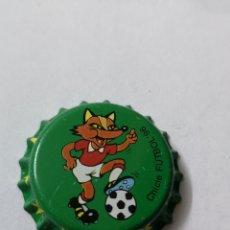 Coleccionismo Otros Botellas y Bebidas: A33. TAPON CORONA. CROWN CAPS. CHICLE FUTBOL 96. Lote 254905485