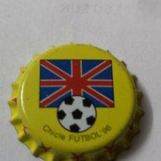 Coleccionismo Otros Botellas y Bebidas: A35. TAPON CORONA. CROWN CAPS. CHICLE FUTBOL 96. Lote 254905775