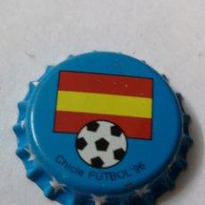 Coleccionismo Otros Botellas y Bebidas: A73. TAPON CORONA. CROWN CAPS. CHICLE FUTBOL 96. Lote 254906210