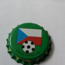 Coleccionismo Otros Botellas y Bebidas: A78. TAPON CORONA. CROWN CAPS. CHICLE FUTBOL 96. Lote 254906305