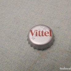 Coleccionismo Otros Botellas y Bebidas: CHAPA AGUA MINERAL CARBONATADA VITTEL (CROWN). Lote 255446935