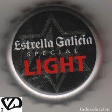Coleccionismo Otros Botellas y Bebidas: CHAPA CERVEZA ESTRELLA GALICIA LIGHT TAPÓN CORONA KRONKORKEN BOTTLE CAPS BEER BIRRA BIER. Lote 255456955