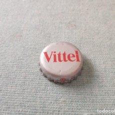 Coleccionismo Otros Botellas y Bebidas: CHAPA AGUA MINERAL CARBONATADA VITTEL (TF). Lote 255536460