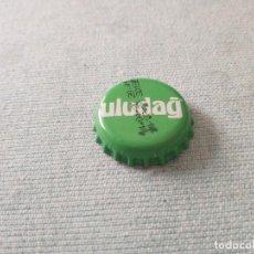 Coleccionismo Otros Botellas y Bebidas: CHAPA AGUA MINERAL AROMATIZADA ULUDAG LIMÓN 1. Lote 255537545