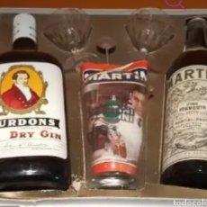 Coleccionismo Otros Botellas y Bebidas: CAJA MARTINI. Lote 258806870