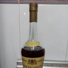 Coleccionismo Otros Botellas y Bebidas: BOTELLA ANTIGUA BRANDY FINE SALENSON ( ANTICH S.A.) PRECINTADA IDEAL COLECCIONISTA. Lote 260731075