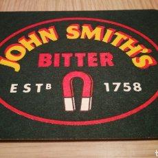 Coleccionismo Otros Botellas y Bebidas: POSAVASOS JOHN SMITH'S BITTER. Lote 261272250