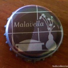 Collezionismo di Altre Bottiglie e Bevande: TAPÓN CORONA - CHAPA - AGUA MALAVELLA. Lote 261534020