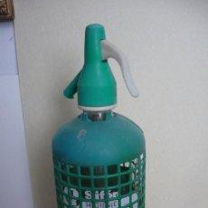 Coleccionismo Otros Botellas y Bebidas: SIFON HIGIENICO SAFONT CALDES DE MONTBUY. Lote 263746815