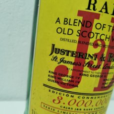 Coleccionismo Otros Botellas y Bebidas: BOTELLA VACÍA DE 3 LITROS DE WHISKY JB EDICIÓN LIMITADA A 1000 BOTELLAS Y NUMERADA Nº 311. Lote 263885280