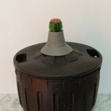 Coleccionismo Otros Botellas y Bebidas: ANTIGUA GARRAFA DAMAJUANA 45CM APRX. DE ALTO. Lote 264802544