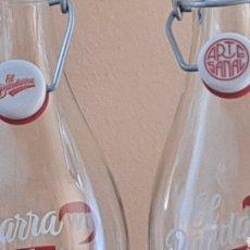 Coleccionismo Otros Botellas y Bebidas: DOS BOTELLAS VERMÚ EL BANDARRA. Lote 265529919