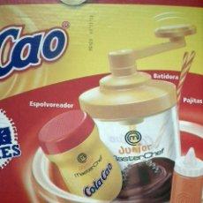 Coleccionismo Otros Botellas y Bebidas: COLA CAO - BATICAO CON ACCCESORIOS. Lote 267783634