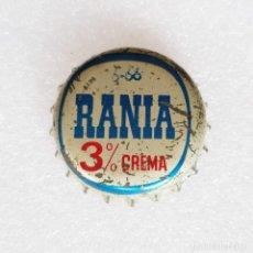 Coleccionismo Otros Botellas y Bebidas: TAPON CORONA LACTEOS RANIA - 3% CREMA -. Lote 268454544