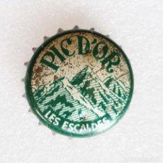 Coleccionismo Otros Botellas y Bebidas: TAPON CORONA PIC D'OR - LES ESCALDES ANDORRA -. Lote 268459344