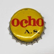 Coleccionismo Otros Botellas y Bebidas: TAPON CORONA OCHO A.S. - NÚMERO FABRICANTE 5604 -. Lote 268723694