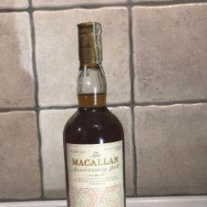 Coleccionismo Otros Botellas y Bebidas: WHISKY THE MACALLAN ANNIVERSARY MALT 25 AÑOS DESTILADO EN 1964 Y EMBOTELLADO EN 1989. Lote 269583023