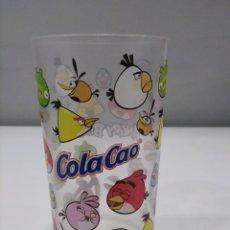 Coleccionismo Otros Botellas y Bebidas: VASO PLÁSTICO COLACAO ANGRY BIRDS.. Lote 279404078