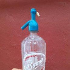 Coleccionismo Otros Botellas y Bebidas: SIFÓN BANDO DE DOS HERMANAS SEVILLA. Lote 280745343