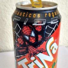 Coleccionismo Otros Botellas y Bebidas: BOTE - LATA REFRESCO TRINA NARANJA PROMOCION REGALOS SPIDERMAN SPIDER MAN HOMBRE ARAÑA MARVEL. Lote 286441743