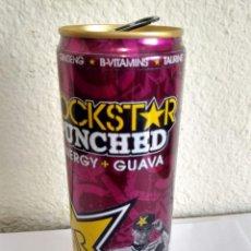 Coleccionismo Otros Botellas y Bebidas: BOTE - LATA BEBIDA ENERGIZANTE ROCKSTAR ROCK STAR PUNCHED - ENERGY + GUAVA - JORGE LORENZO MOTO GP. Lote 286469118